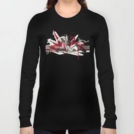 Red Metal Long Sleeve T-shirt