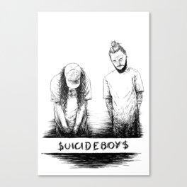 $UICIDEBOY$ Canvas Print
