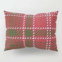 Red Kilt Tartan Pillow Sham