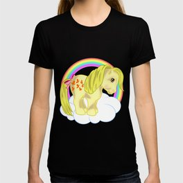 g1 my little pony snuzzle and butterscotch T-shirt