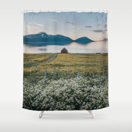 Nordic Summer - Landscape and Nature Photography Shower Curtain