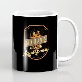 Mechanic Mechanist Coffee Mug