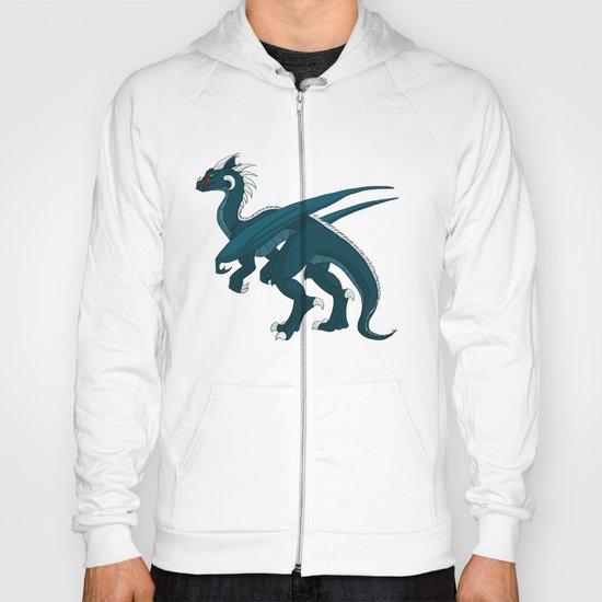 Teal Dragon Hoody