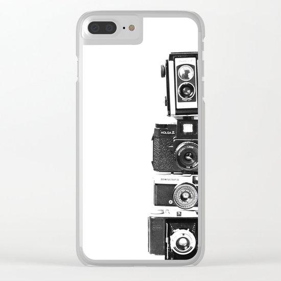 Camera Love Clear iPhone Case