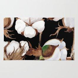 Cotton Flower Pattern 03 Rug