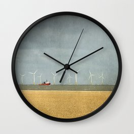 Scroby Sands Wind Farm, Great Yarmouth Wall Clock