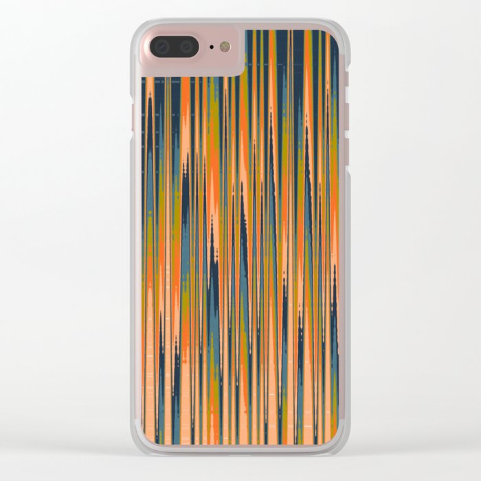 Abstract 359 Clear iPhone Case