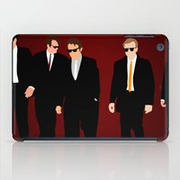 reservoir dogs iPad Cases featuring Reservoir Dogs by Tom Storrer