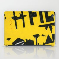 2001 iPad Cases featuring hfi SIGN 2001 by David Hinnebusch