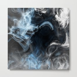 Watery Abyss Metal Print
