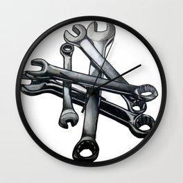 Tool Wall Clock