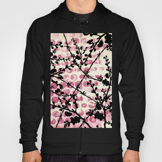 Barbed Flowers Hoody