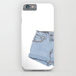 She Wears Short Shorts iPhone Case