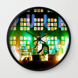 PULP in Coachella Wall Clock