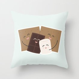 Group Hug! Throw Pillow