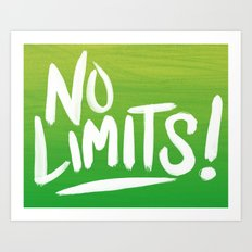 No Limits! Art Print