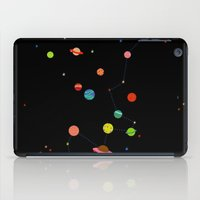 planets iPad Cases featuring Planets by camilla falsini