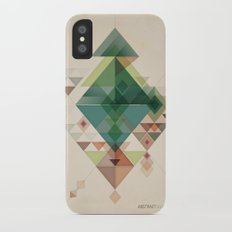 Abstract illustration iPhone X Slim Case