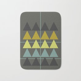 disguise forest || spring neon Bath Mat
