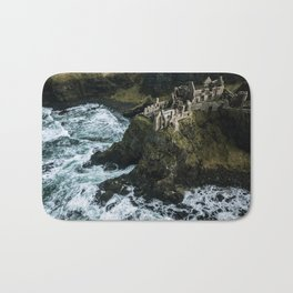 Castle ruin by the irish sea - Landscape Photography Bath Mat