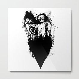Whip Ink Metal Print