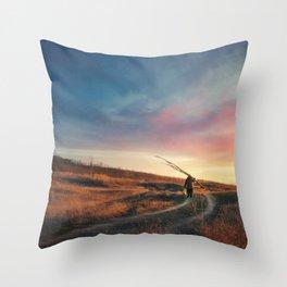the perfect stranger Throw Pillow