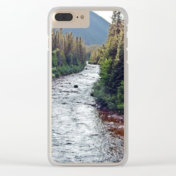 Forest Paradise Clear iPhone Case