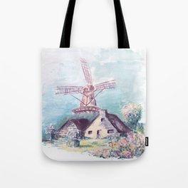 Le moulin Tote Bag