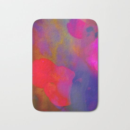 She Always Colored Outside the Lines Bath Mat