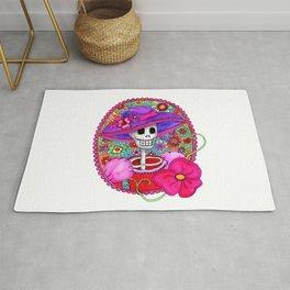 Mexican Catrina Rug