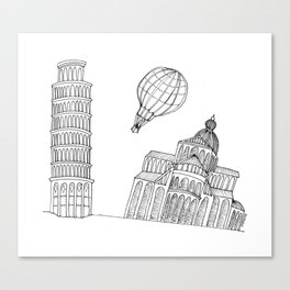 Point of view... Canvas Print