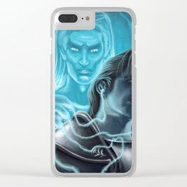 One's own ghost.. Clear iPhone Case