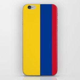 Flag of Colombia-Colombian,Bogota,Medellin,Marquez,america,south america,tropical,latine america iPhone Skin