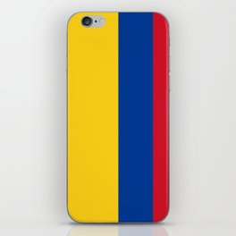Flag of Colombia-Colombian,Bogota,Medellin,Marquez,america,south america,tropical,latine america iPhone Skin