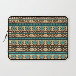 Southwestern navajo ethnic pattern. Laptop Sleeve