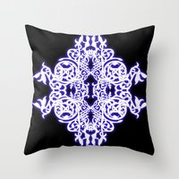 gothic Throw Pillows featuring Gothic  by pwrighteous