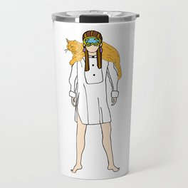 Holly and Cat Travel Mug