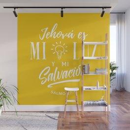 Mi luz y salvación Wall Mural