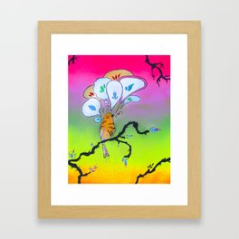There Sure is a Lot to Say and Think About Framed Art Print