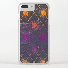 Mandala Repeat Clear iPhone Case