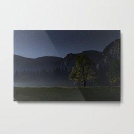 One Night in Yosemite Metal Print
