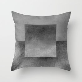 Square Composition XII Throw Pillow