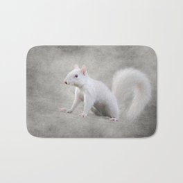 Albino Squirrel Bath Mat