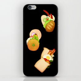 Bread and Sandwiches iPhone Skin