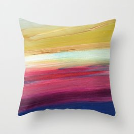 Summers Dance Throw Pillow
