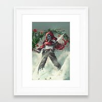 anarchy Framed Art Prints featuring Anarchy by gravitybeams