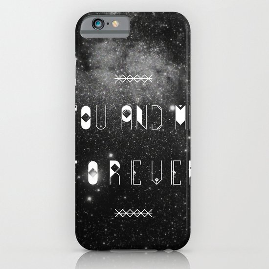 You and Me Forever iPhone & iPod Case