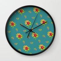 hawaiian Wall Clocks featuring Hawaiian by Beautiful Revelry