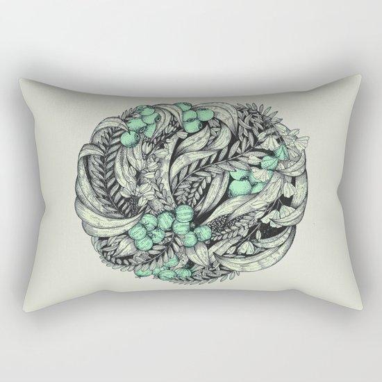 Circle II Rectangular Pillow