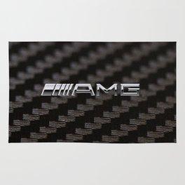 Carbon AMG Rug